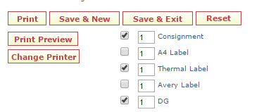 Screen shot of new Freman web save controls